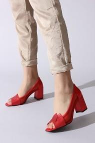 Pantofi cu toc ROVIGO 0389755-04 rosu