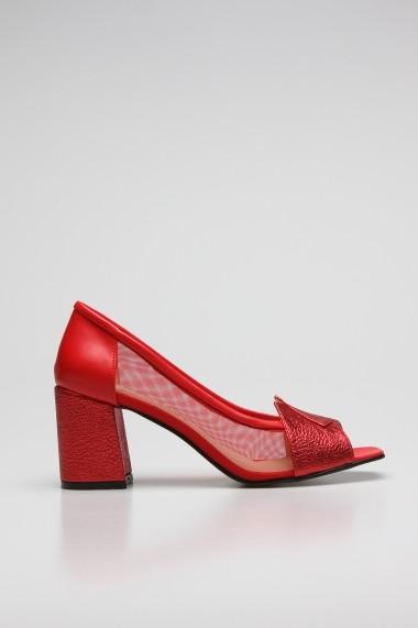 Pantofi cu toc ROVIGO 0389755-04 rosu - els