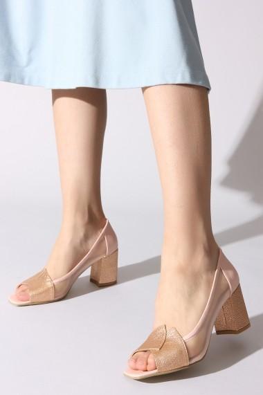 Pantofi cu toc ROVIGO 0389755-06 roz