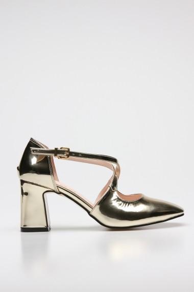 Pantofi cu toc ROVIGO 1068014-03 auriu