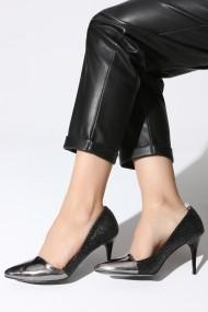 Pantofi cu toc ROVIGO 20141157-1-01 argintiu