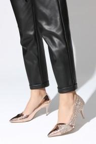 Pantofi cu toc ROVIGO 20141166-2-03 auriu