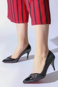 Pantofi cu toc ROVIGO 20141166-2-05 negru