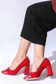 Pantofi cu toc ROVIGO 2014187-1-01 rosu