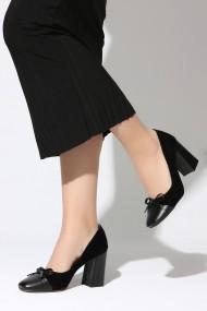 Pantofi cu toc ROVIGO 2014187-1-03 negru - els