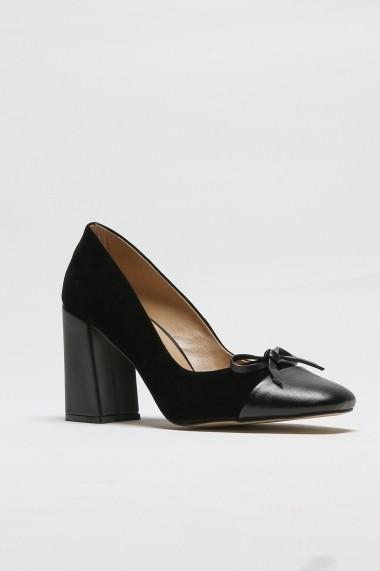 Pantofi cu toc ROVIGO 2014187-1-03 negru