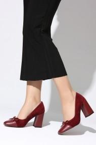 Pantofi cu toc ROVIGO 2014187-1-05 bordo