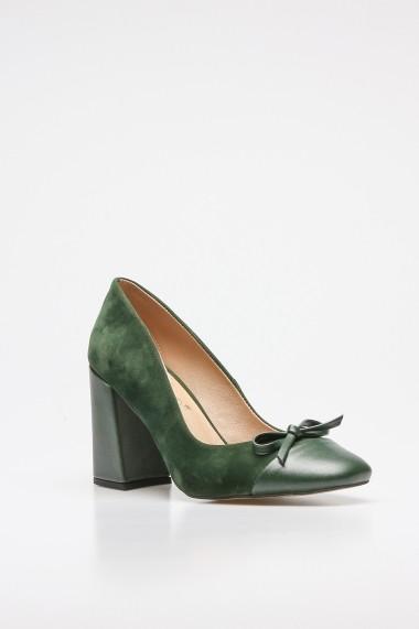 Pantofi cu toc ROVIGO 2014187-1-07 kaki
