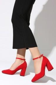 Pantofi cu toc ROVIGO 2014189-2-03 rosu