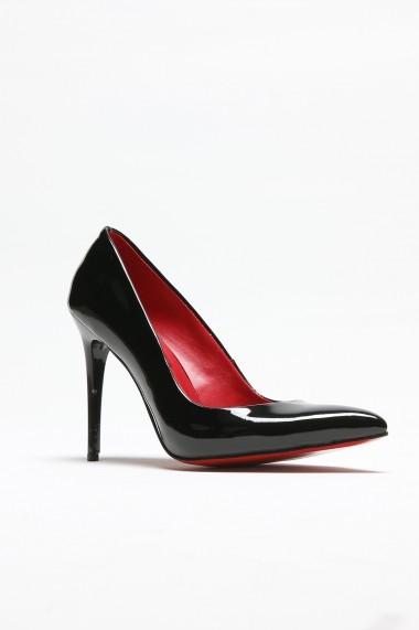 Pantofi cu toc ROVIGO 2014244-2-01 negru