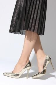 Pantofi cu toc ROVIGO 2014244-2-05 auriu