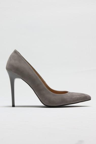 Pantofi cu toc ROVIGO 2014244-2-06 gri