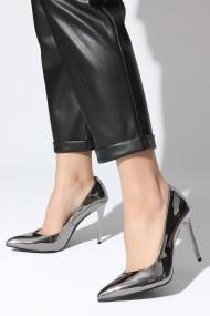 Pantofi cu toc ROVIGO 2014244-2-07 argintiu