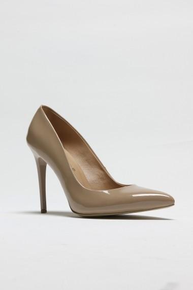 Pantofi cu toc ROVIGO 2014244-2-08 bej