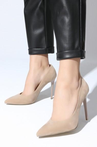 Pantofi cu toc ROVIGO 2014244-2-09 nude
