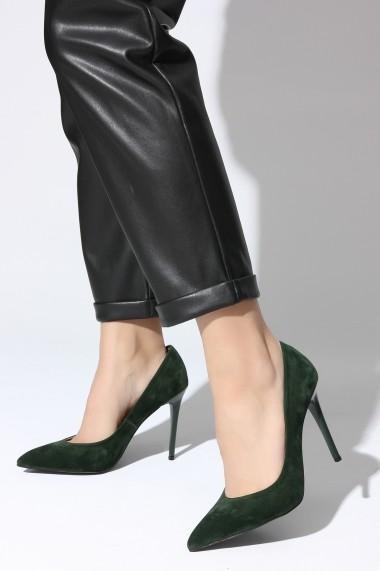 Pantofi cu toc ROVIGO 2014244-2-11 verde