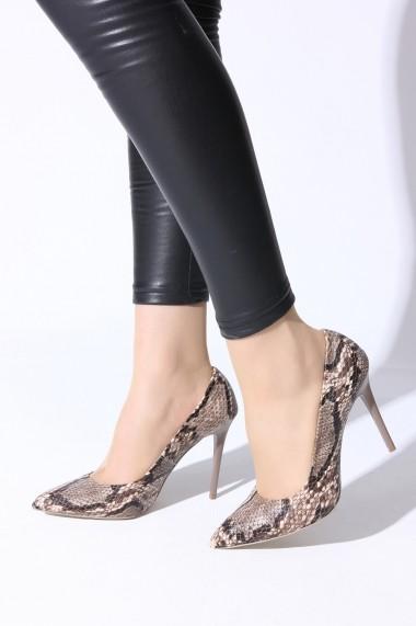 Pantofi cu toc ROVIGO 2014244-2-14 Animal Print