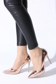 Pantofi cu toc ROVIGO 2014244-2-16 auriu