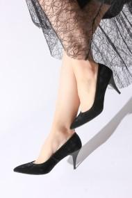 Pantofi cu toc ROVIGO 20143144-02 negru