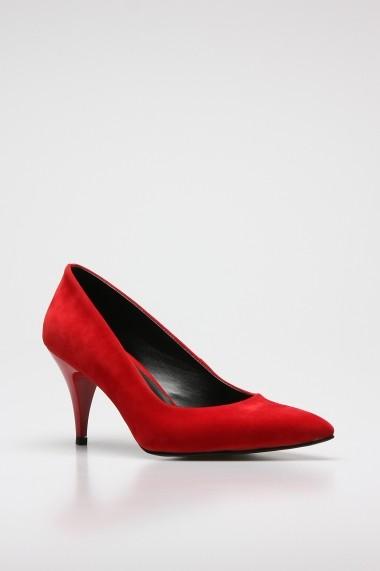 Pantofi cu toc ROVIGO 20143144-03 rosu
