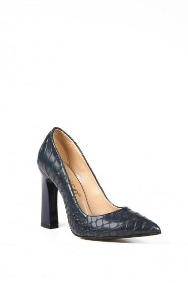 Pantofi cu toc ROVIGO 20143256-2-01 bleumarin