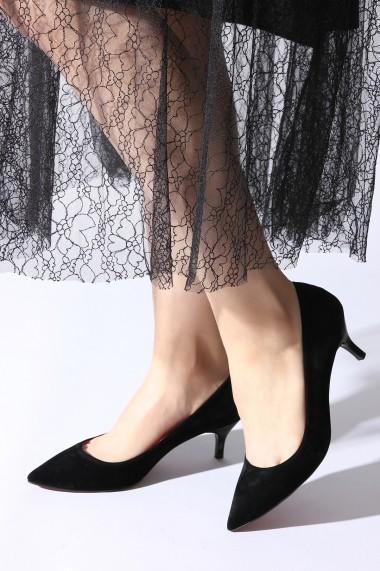 Pantofi cu toc ROVIGO 2014446-3-01 negru