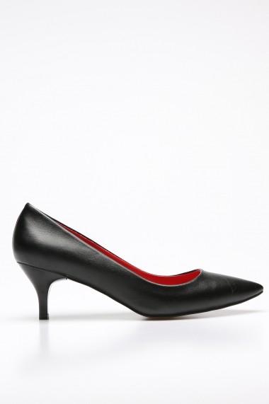 Pantofi cu toc ROVIGO 2014446-3-02 negru
