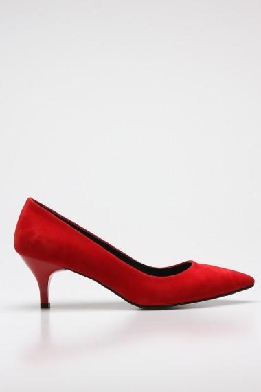 Pantofi cu toc ROVIGO 2014446-3-04 rosu
