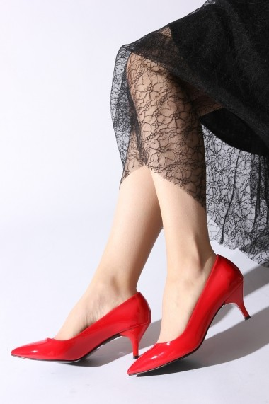 Pantofi cu toc ROVIGO 2014446-3-06 rosu