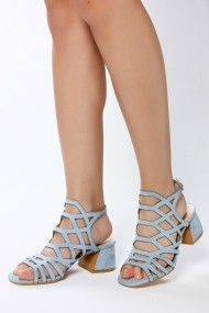 Pantofi cu toc ROVIGO 563012-02 albastru