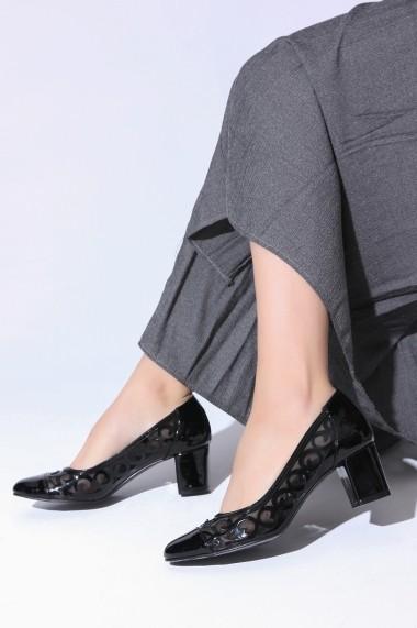 Pantofi cu toc ROVIGO 5631167-1-09 negru