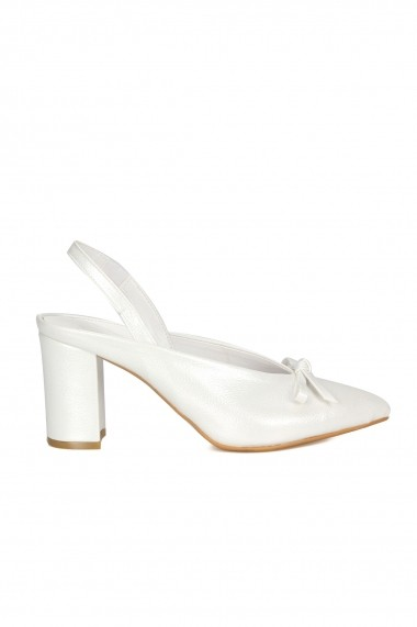 Pantofi cu toc ROVIGO 5631204-09 alb