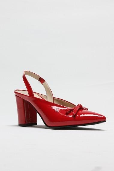 Pantofi cu toc ROVIGO 5631204-1-01 rosu