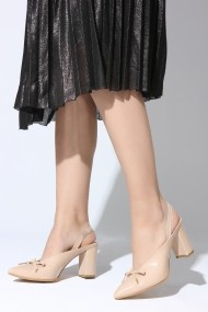 Pantofi cu toc ROVIGO 5631204-1-02 nude