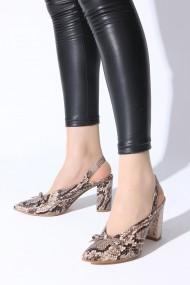 Pantofi cu toc ROVIGO 5631204-1-04 bej