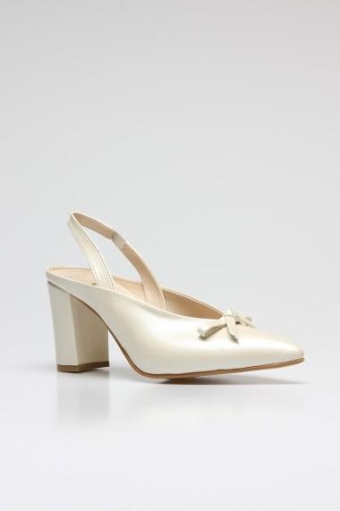 Pantofi cu toc ROVIGO 5631204-1-05 alb