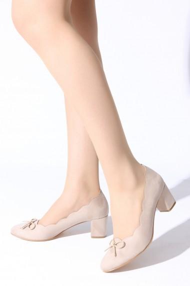 Pantofi cu toc ROVIGO 5631913-04 nude