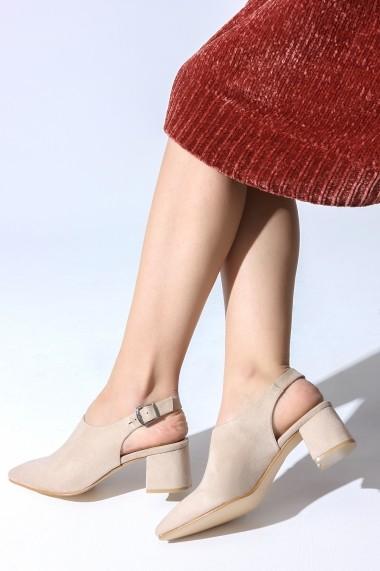 Pantofi cu toc ROVIGO 5631920-03 nude
