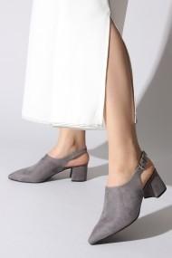 Pantofi cu toc ROVIGO 5631920-06 gri
