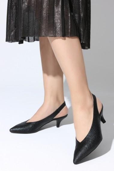 Pantofi cu toc ROVIGO 5631921-01 negru