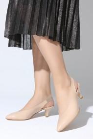 Pantofi cu toc ROVIGO 5631921-03 nude