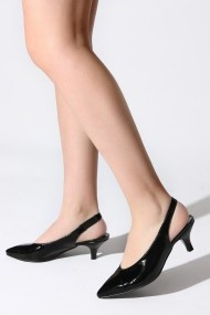 Sandale cu toc ROVIGO 5631921-05 negru