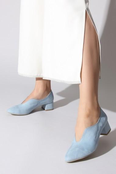 Pantofi cu toc ROVIGO 5872201-02 albastru