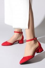 Pantofi cu toc ROVIGO 5872255-02 rosu