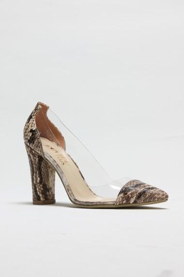 Pantofi cu toc ROVIGO 8112122-01 animal print