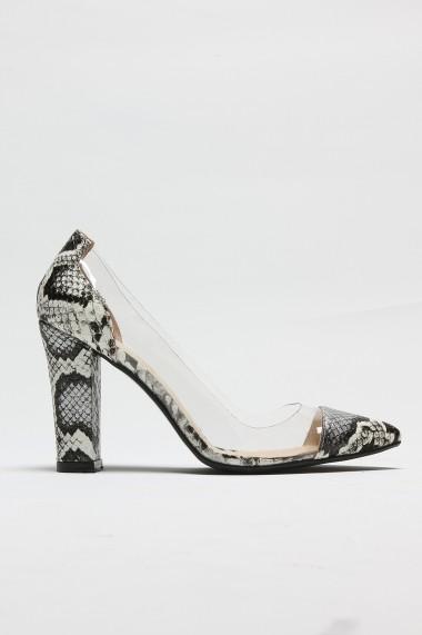 Pantofi cu toc ROVIGO 8112122-02 animal print