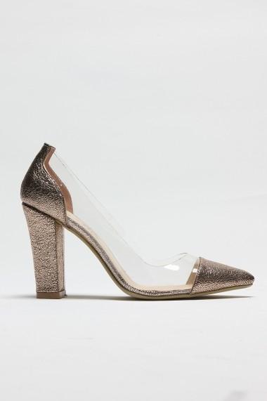 Pantofi cu toc ROVIGO 8112122-03 auriu