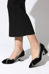 Pantofi cu toc ROVIGO 81158-03 negru