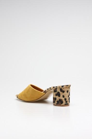 Papuci ROVIGO 0389256-01 mustar