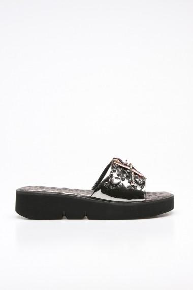 Papuci ROVIGO 382E-11-01 argintiu